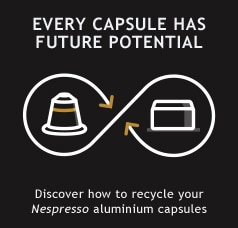 Discover how to recycle your Nespresso aluminium capsules