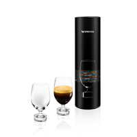 Reveal Lungo Coffee Glass and packaging
