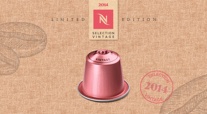 Selection Vintage 2014 Limited Edition Nespresso
