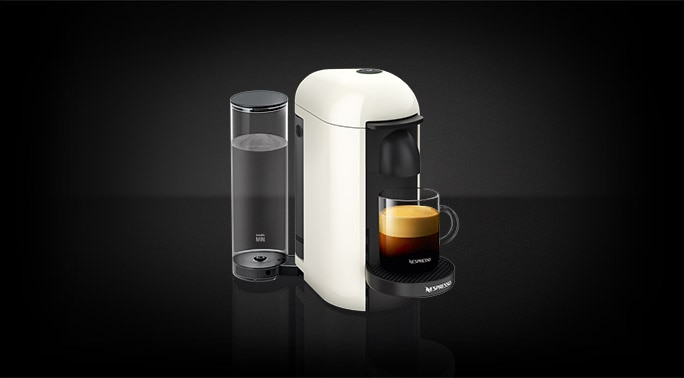 Vertuoplus White New Vertuo Espresso Machine Nespresso Usa