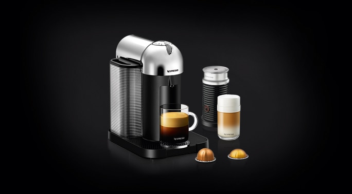 Vertuo Chrome Bundle Vertuo Coffee Maker Bundle Pack