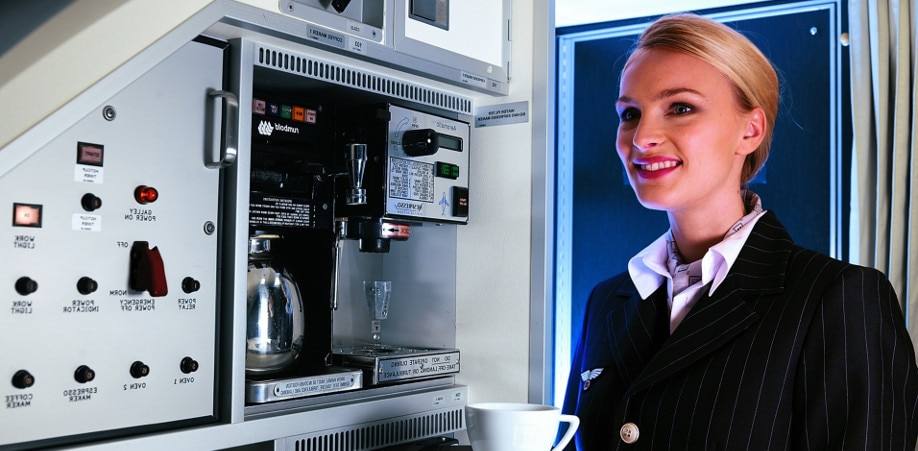 Nespresso Professional for airline companies
