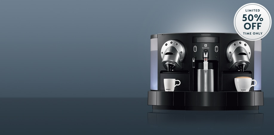 Get 50% off a Gemini Commercial Coffee Machine