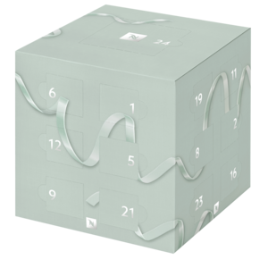 Nespresso Christmas Coffee Capsule Advent Calendar In Mint Green