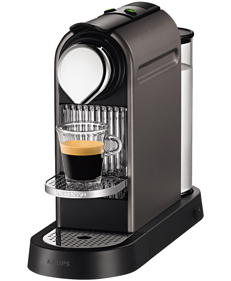 krups citiz titanium coffee machine nespresso hellas. Black Bedroom Furniture Sets. Home Design Ideas