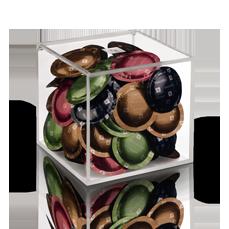 coffee capsules dispensers nespresso pro. Black Bedroom Furniture Sets. Home Design Ideas