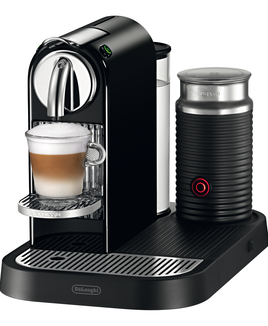citiz milk limousine black coffee machine nespresso. Black Bedroom Furniture Sets. Home Design Ideas