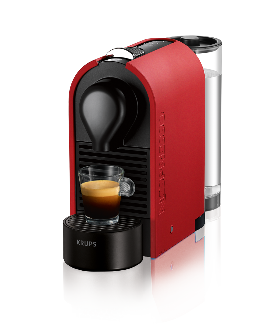 Krups Coffee Maker Capsules : Krups Nespresso U Mat Red XN2505 Coffee Machines Nespresso GR