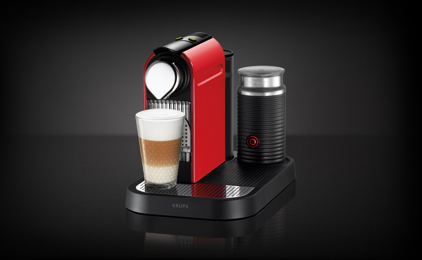 citiz milk fire engine coffee machine nespresso uk. Black Bedroom Furniture Sets. Home Design Ideas