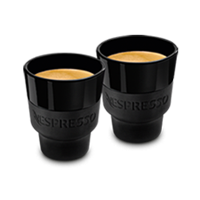 Touch Lungo Black Coffee Mugs