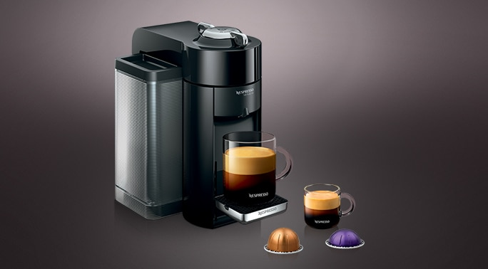 Evoluo Piano Black Best Vertuo Coffee Maker Nespresso Usa