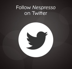 Follow Nespresso on Twitter