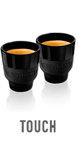 Espresso Coffee Cups Nespresso Touch Collection