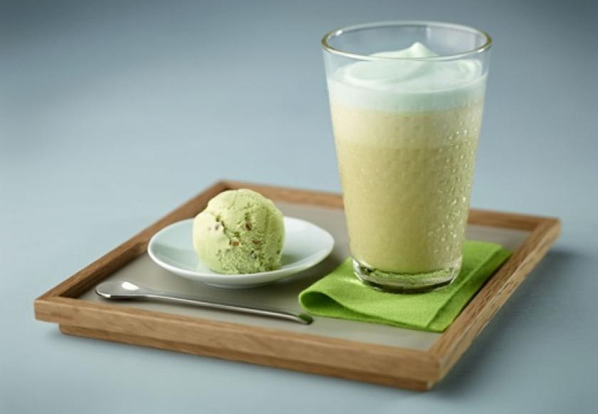 Pistachio Iced Coffee