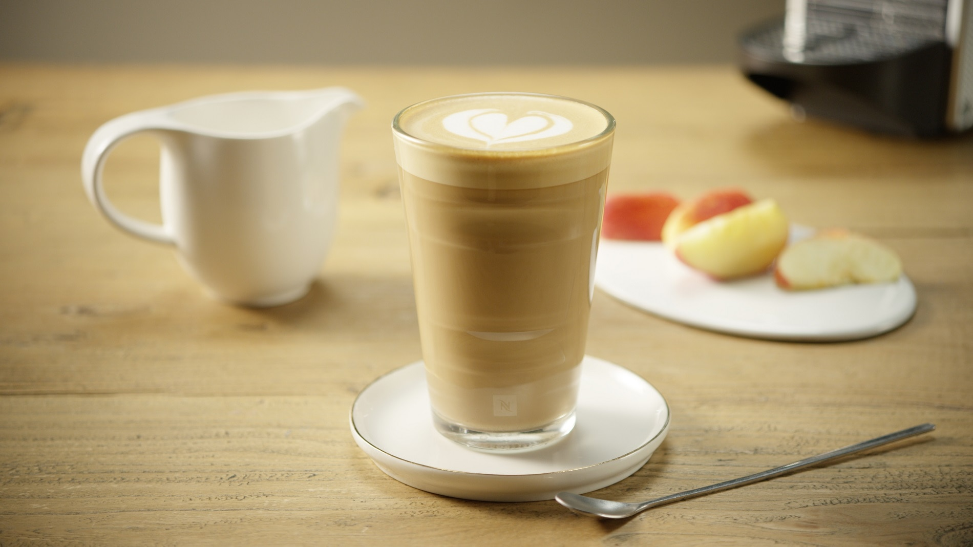 Caffe Latte By Nespresso Nespresso Recipes