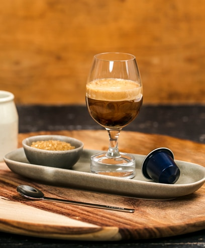 Creamy Macchiato with a twist featuring Kazaar