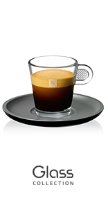 Espresso Coffee Cups <em>Nespresso</em> Glass Collection