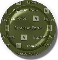 Zöld kávé kapszula alja.