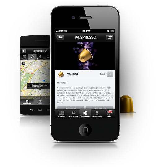 Nespresso Prodigio Espresso Machine Here to help make espresso more convenient is the smart, new Nespresso Prodigio coffee maker and mobile app combo.