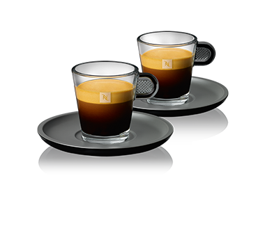 glass collection accessories nespresso